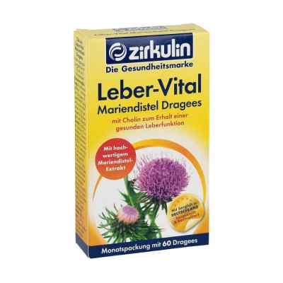 Zirkulin Leber-vital Mariendistel Dragees  bei apolux.de bestellen