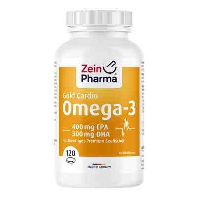 Omega-3 Gold Herz Dha 300mg/epa 400mg Softgelkaps.  bei apolux.de bestellen
