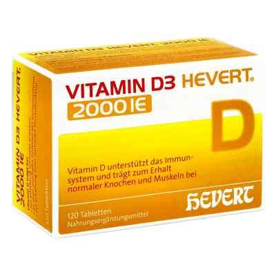 Vitamin D3 Hevert 2.000 I.e. Tabletten  bei apolux.de bestellen