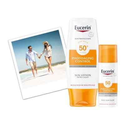 Eucerin Sun Photoaging Control Face CC Creme Mittel LSF 50+  bei apolux.de bestellen