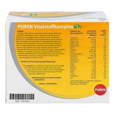 Puren Vitalstoffkomplex Beutel a 15 g Granulat  bei apolux.de bestellen