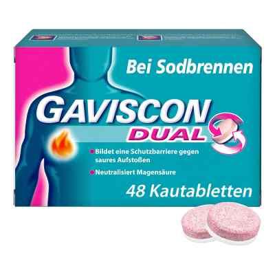 Gaviscon Dual 250mg/106,5mg/187,5mg Kautabletten  bei apolux.de bestellen