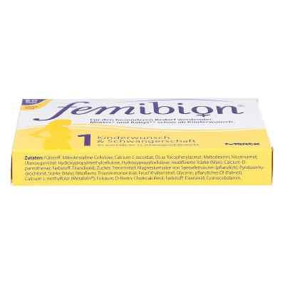 Femibion Schwangerschaft 1 D3+800 [my]g Folat ohne Jo  bei apolux.de bestellen