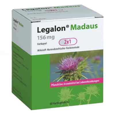 Legalon Madaus 156 mg Hartkapseln  bei apolux.de bestellen