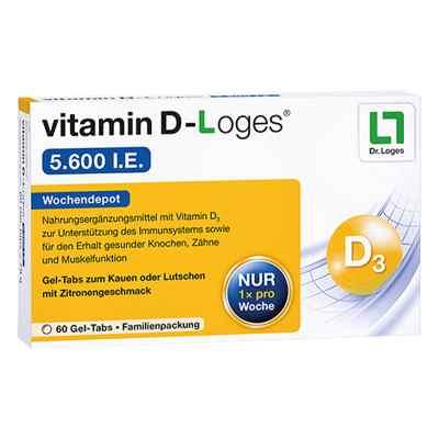 Vitamin D-loges 5.600 I.e. Kautablette (n) familienpackung  bei apolux.de bestellen