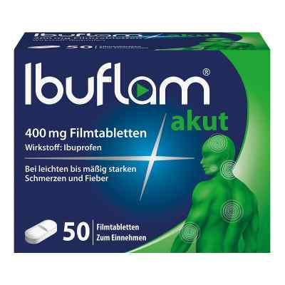 Ibuflam Akut 400 mg Ibuprofen Schmerztabletten  bei apolux.de bestellen