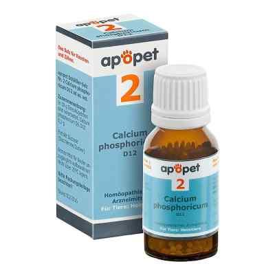 Apopet Schüssler-salz Nummer 2  Calcium phosphoricum D  12 veter  bei apolux.de bestellen