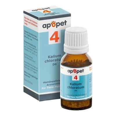 Apopet Schüssler-salz Nummer 4  Kalium chlor.D 6 veterinär   bei apolux.de bestellen