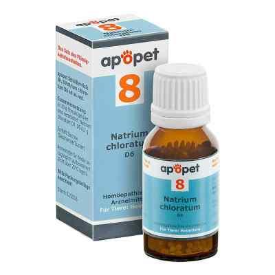 Apopet Schüssler-salz Nummer 8  Natrium chlor.D 6 veterinär   bei apolux.de bestellen