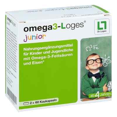 Omega 3-loges junior Kaudragees  bei apolux.de bestellen