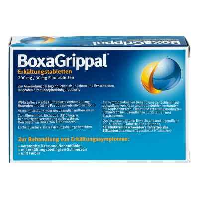 Boxagrippal Erkältungstabletten 200 mg/30 mg Fta  bei apolux.de bestellen