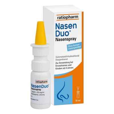 Nasenduo Nasenspray  bei apolux.de bestellen
