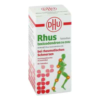 Rhus Tox. D6 Dhu bei rheumatischen Schmerzen Tabletten   bei apolux.de bestellen