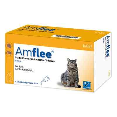 Amflee 50 mg Spot-on Lösung zur, zum Auftropfen für Katzen  bei apolux.de bestellen