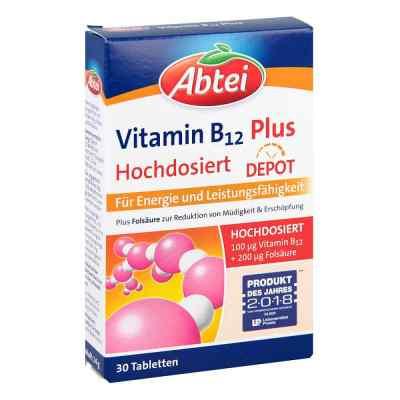 Abtei Vitamin B12+folsäure Tabletten  bei apolux.de bestellen