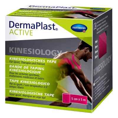 Dermaplast Active Kinesiology Tape 5 cmx5 m pink  bei apolux.de bestellen
