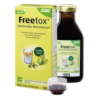 Freetox Löwenzahn-brennnessel 12-kräuter-elix.bio  bei apolux.de bestellen