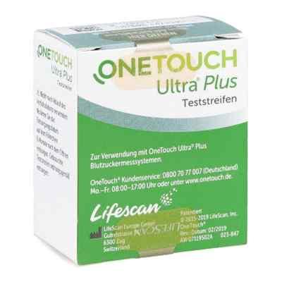 One Touch Ultra Plus Teststreifen  bei apolux.de bestellen