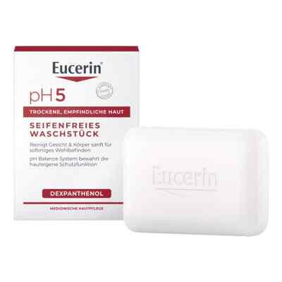 Eucerin pH5 seifenfreies Waschstück empfindl.Haut  bei apolux.de bestellen