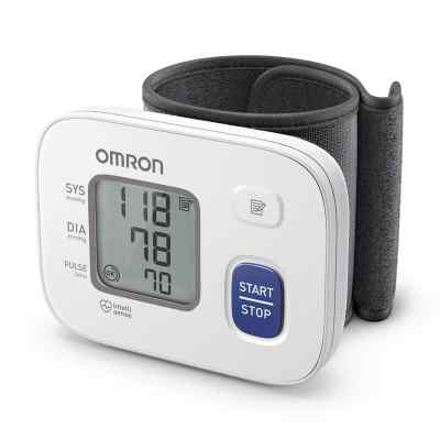 Omron Rs2 Handgelenk Blutdruckmessgerät Hem-6161-d  bei apolux.de bestellen