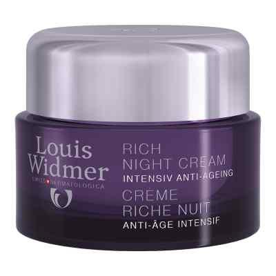 Widmer Rich Night Cream leicht parfümiert  bei apolux.de bestellen