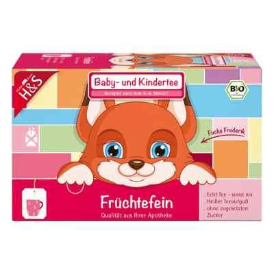 H&s Bio Baby- und Kindertee Früchtefein Filterbeutel  bei apolux.de bestellen
