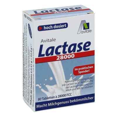 Lactase 28.000 Fcc Tabletten im Spender  bei apolux.de bestellen