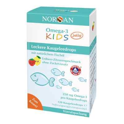 Omega 3 Kids Jelly Fischöl Dragees Vorratspackung Norsan  bei apolux.de bestellen