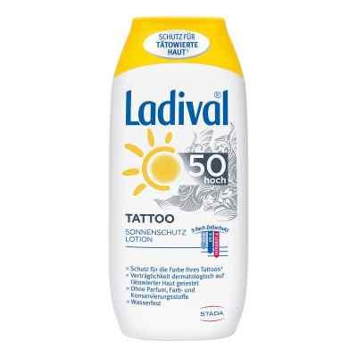 Ladival Tattoo Sonnenschutz Lotion Lsf 50  bei apolux.de bestellen