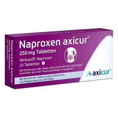 Naproxen axicur 250 mg Tabletten  bei apolux.de bestellen