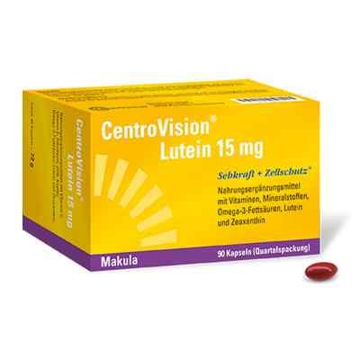 Centrovision Lutein 15 mg Kapseln  bei apolux.de bestellen