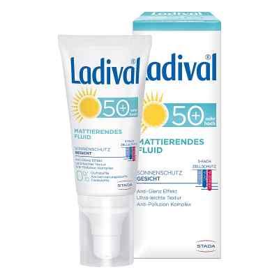 Ladival Sonnenschutz Gesicht Fluid mattierend LSF 50+  bei apolux.de bestellen