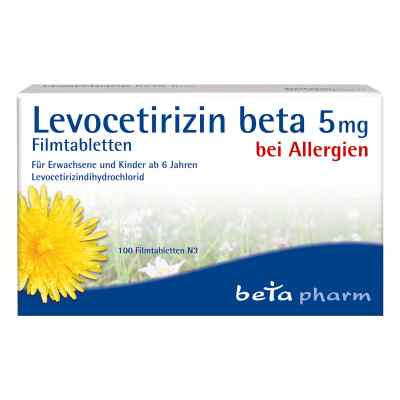 Levocetirizin beta 5 mg Filmtabletten  bei apolux.de bestellen