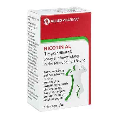 Nicotin Al 1 mg/Sprühstoß Spray zur Anwendung in der Mundhöhle,   bei apolux.de bestellen
