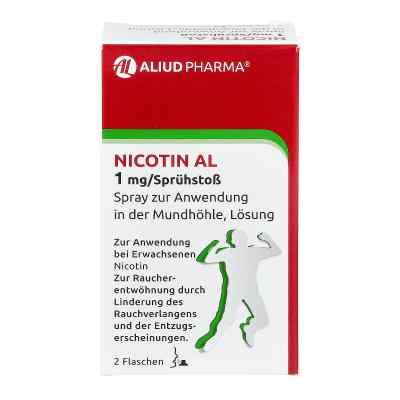 Nicotin Al 1 mg/Sprühstoss Spray zur, zum Anw.i.d.Mundhö.  bei apolux.de bestellen