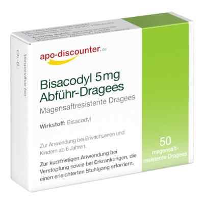 Bisacodyl 5mg Dragees von apo-discounter - bei Verstopfung  bei apolux.de bestellen