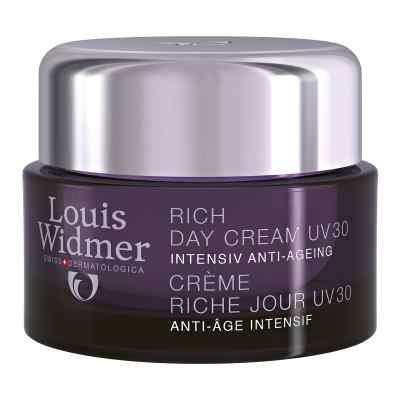 Widmer Rich Day Cream Uv 30 leicht parfümiert  bei apolux.de bestellen