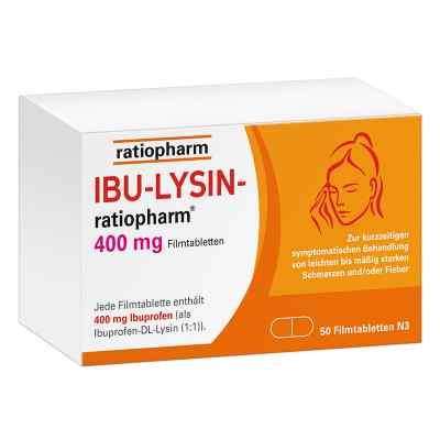 Ibu Lysin-ratiopharm 400 mg Filmtabletten  bei apolux.de bestellen