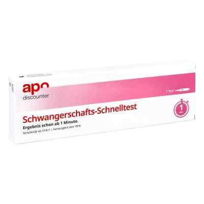 Schwangerschaftstest Schnelltest ab 25ie/l Urin von apo-discount  bei apolux.de bestellen