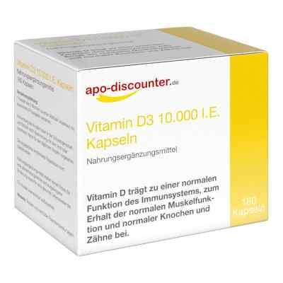 Vitamin D3 Kapseln 10000 I.e. 250 [my]g von apo-discounter  bei apolux.de bestellen