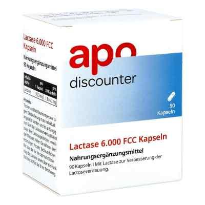 Lactase 6.000 Fcc Kapseln von apo-discounter  bei apolux.de bestellen