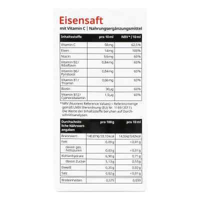 Eisensaft mit Vitamin C von apo-discounter  bei apolux.de bestellen