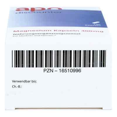 Magnesium Kapseln 400 mg von apo-discounter  bei apolux.de bestellen