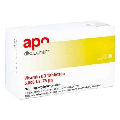 Vitamin D3 Tabletten 3000 I.e. 75 [my]g  bei apolux.de bestellen