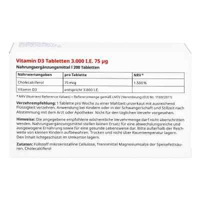 Vitamin D3 Tabletten 3000 I.e. 75 [my]g von apo-discounter  bei apolux.de bestellen