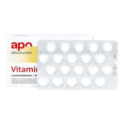 Vitamin C Und Zink Lutschtabletten von apo-discounter  bei apolux.de bestellen