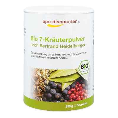 Bio 7-Kräuterpulver nach Bertrand Heidelberger von apo-discounte  bei apolux.de bestellen