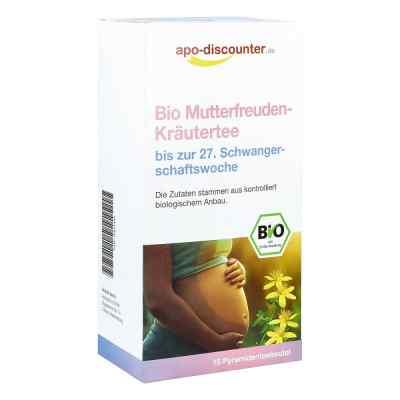 Bio Mutterfreuden-Kräutertee ohne Himbeerblätt.Fbtl. von apo-dis  bei apolux.de bestellen