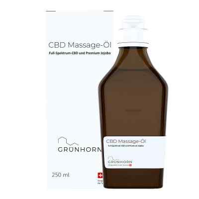 Grünhorn Cbd Massage-öl  bei apolux.de bestellen