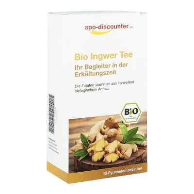Bio Ingwer Tee Filterbeutel von apo-discounter  bei apolux.de bestellen